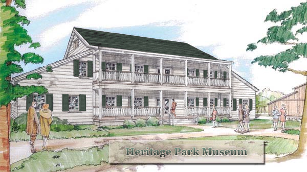 Rendering of Heritage House Museum